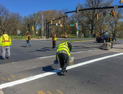 Crosswalks Repair Progress