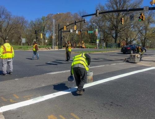 Crosswalks Repair Progress