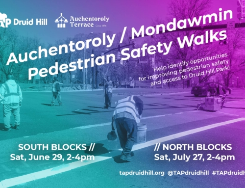 Auchentoroly / Mondawmin Pedestrian Safety Walks