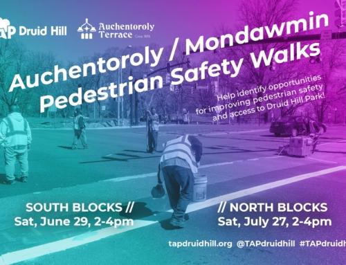 Auchentoroly / Mondawmin Pedestrian Safety Walks