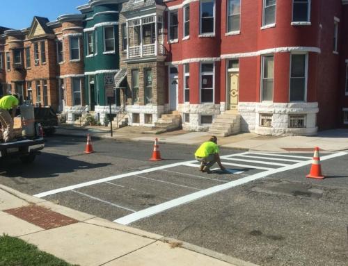 Four new crosswalks installed!