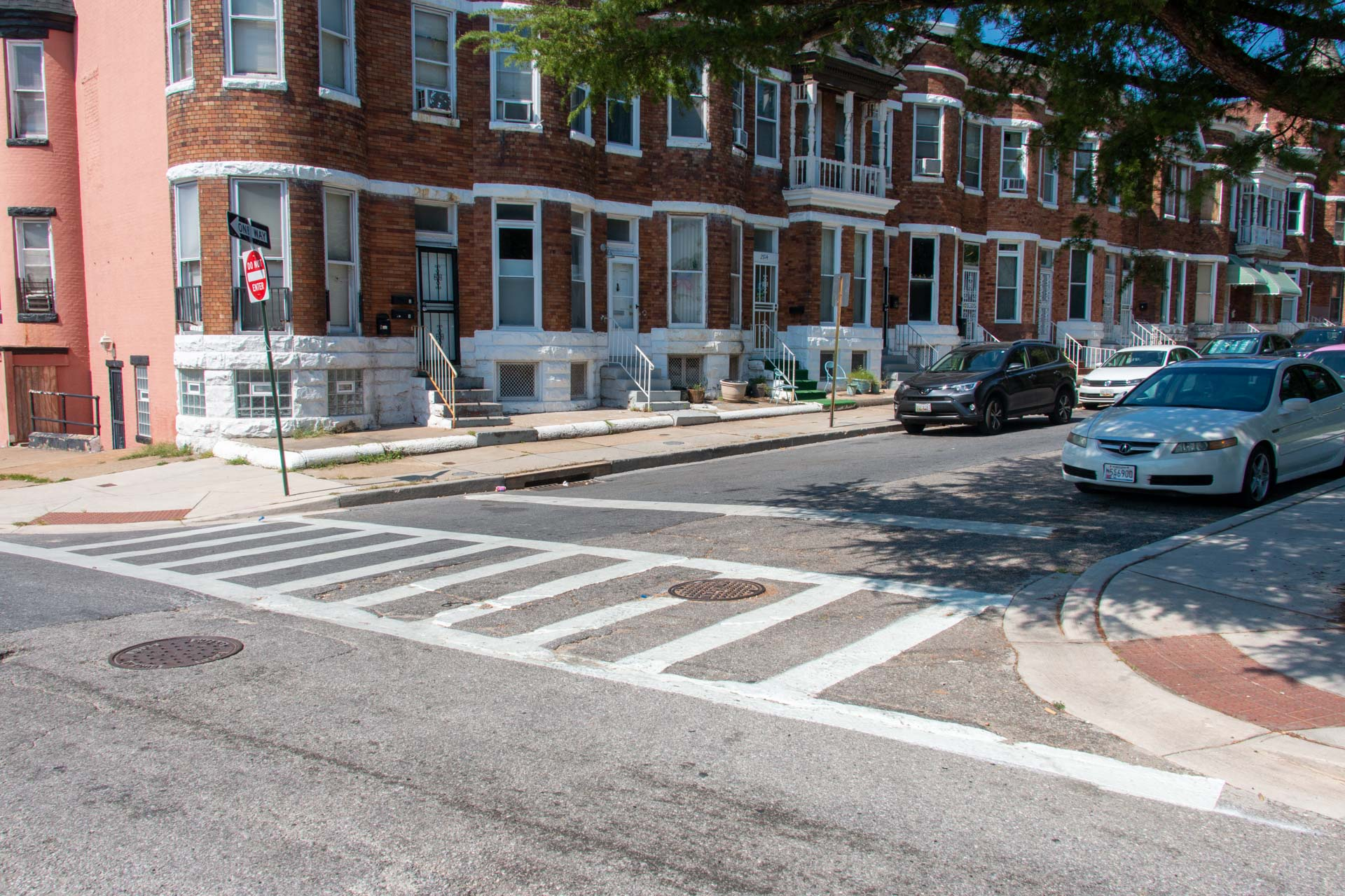 190904 South Auchentoroly Crosswalk after Fulton perspective