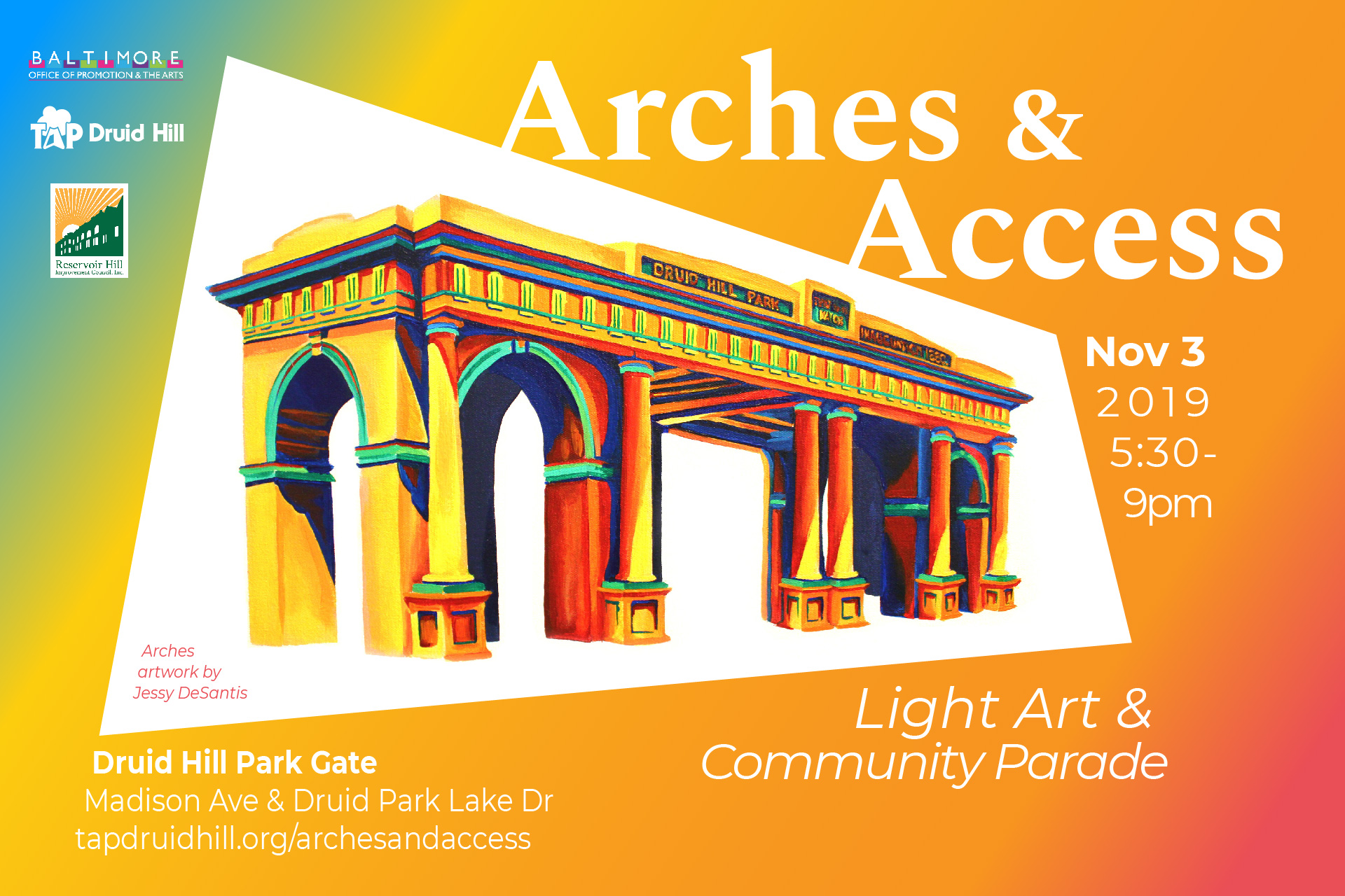 Access & Arches Parade