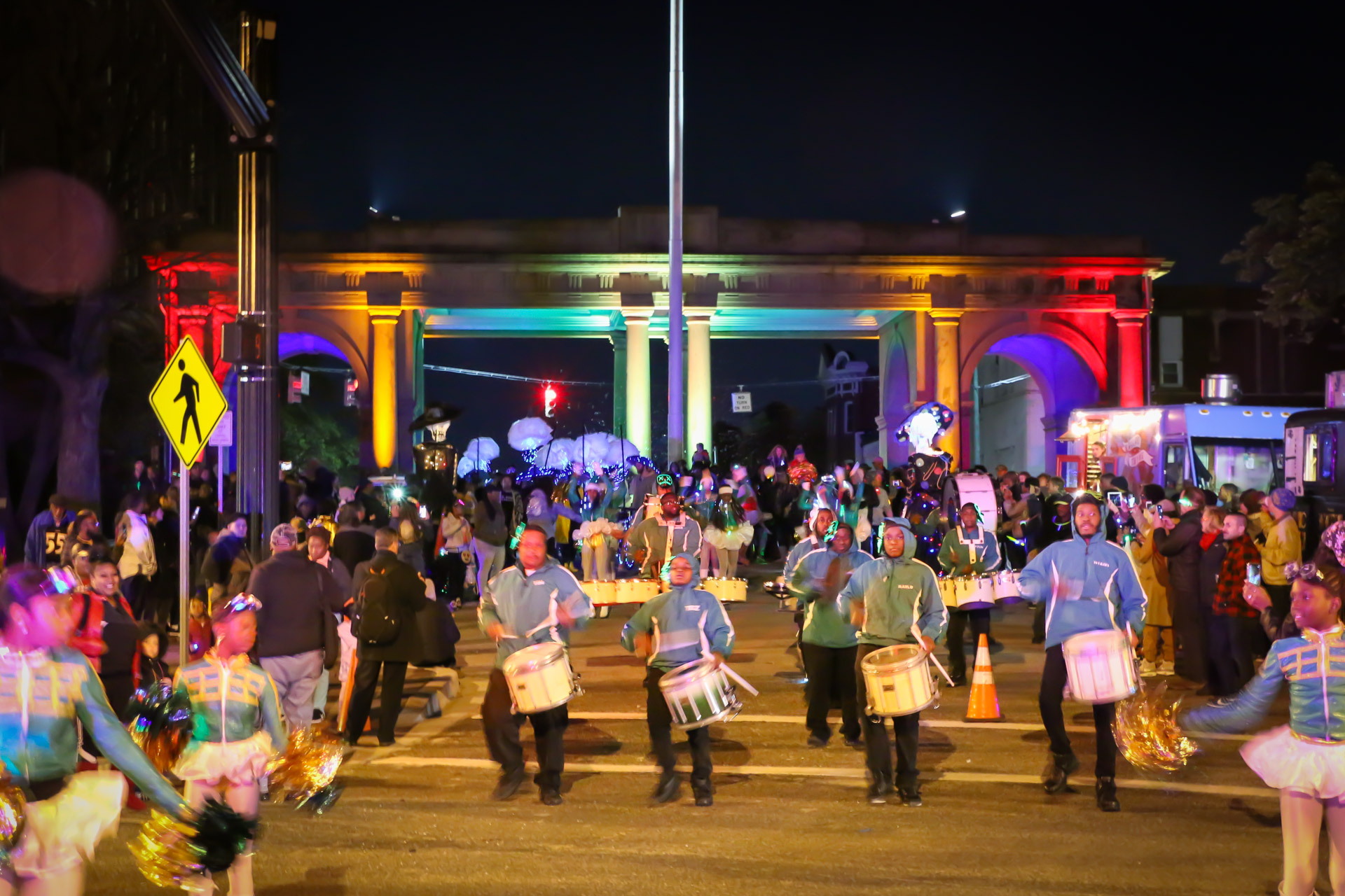 Arches & Access parade kick off