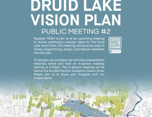 Druid Lake Vision Plan – Public Meeting # 2